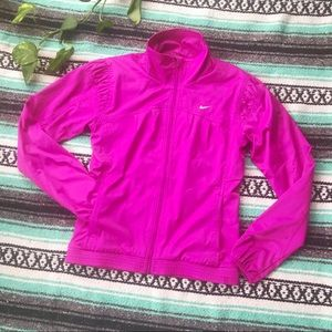 Nike pink track jacket athleisure lounge wear